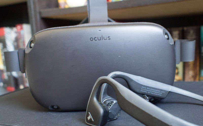 Icymi Can You Use Wireless Headphones With Oculus Quest Oculus Vr Device Wired Headphones