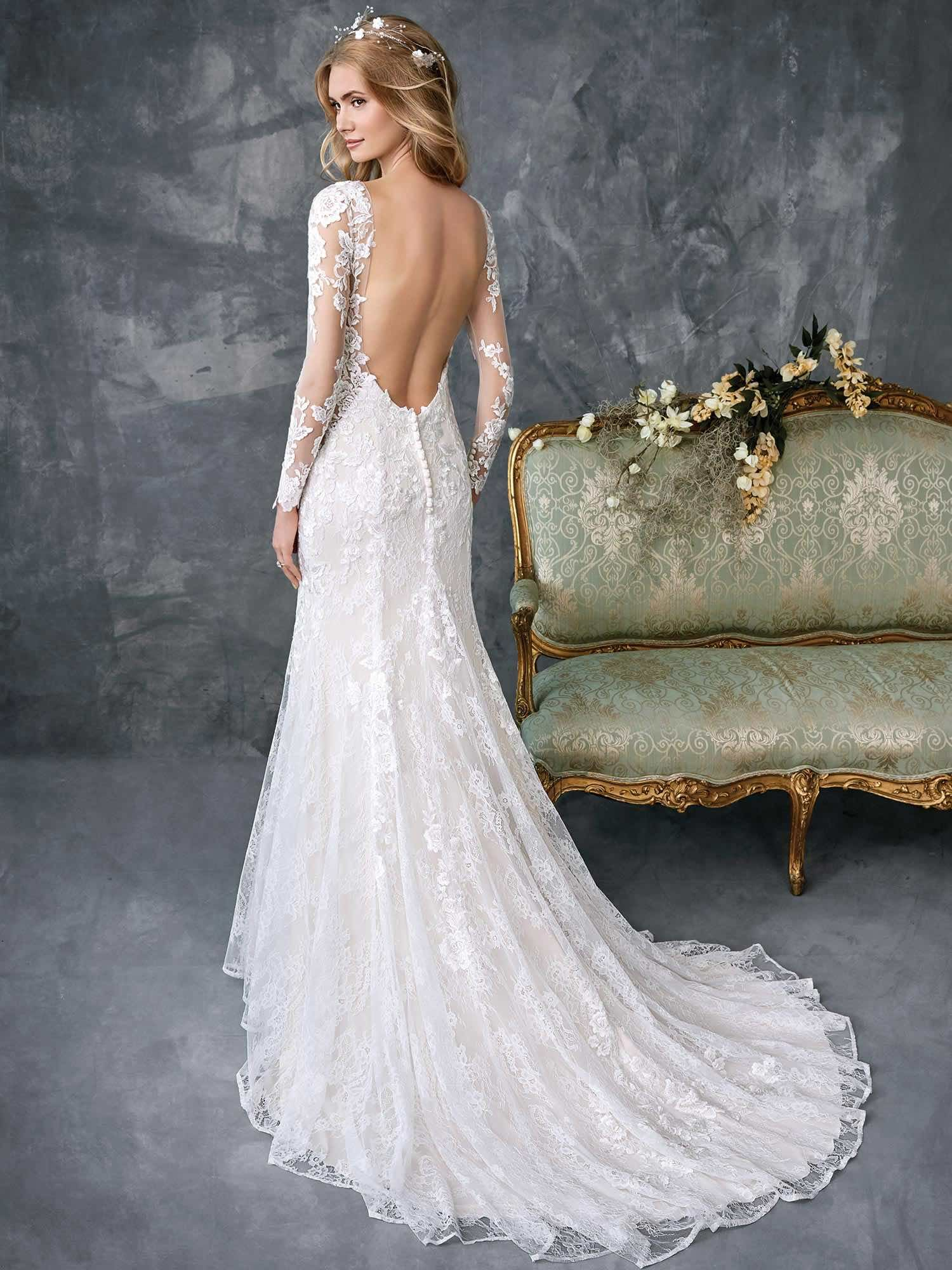 Timelessly Elegant 2018 Spring Kenneth Winston Wedding Dresses