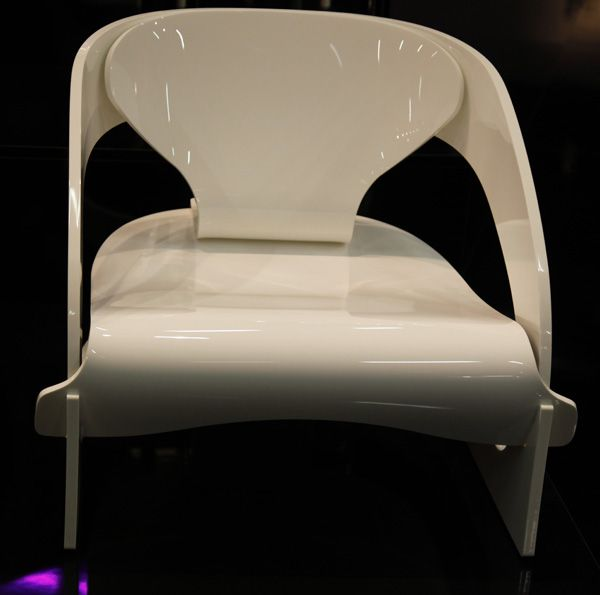 Love Kartellu0027s Reissue Of Joe Columbou0027s 4801 Chair   The Sheen + Curves  Reminds Me Of
