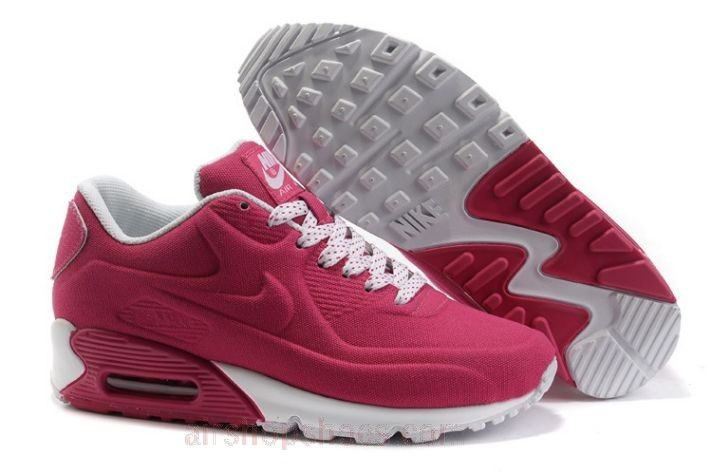 Nike Air Max 90 VT For Sale Womens Running Shoes Rose Red