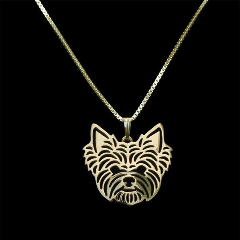 Cute yorkshire terrier necklace keep your yorkie close to your cute yorkshire terrier necklace keep your yorkie close to your heart always aloadofball Choice Image