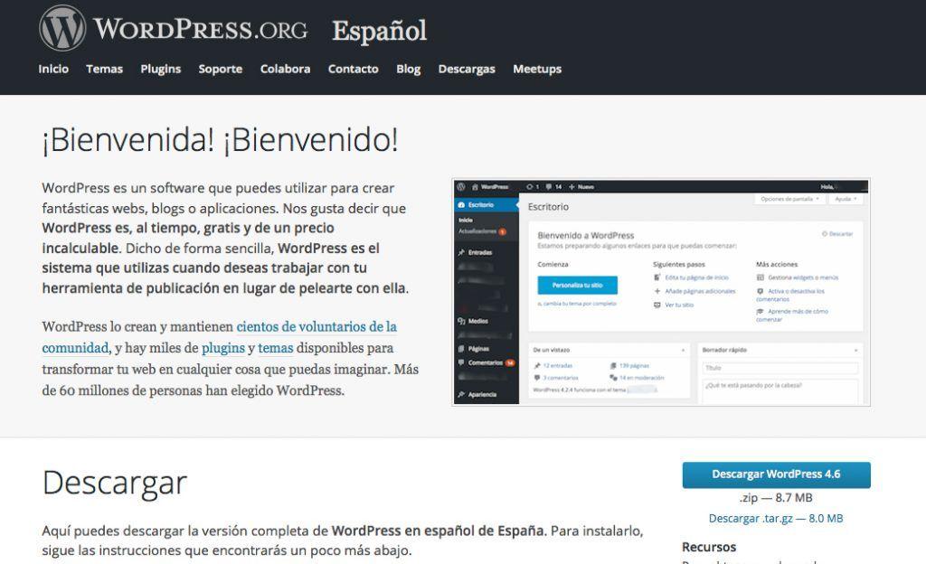 actualizar wordpress de forma manual wordpress pinterest wordpress rh pinterest com