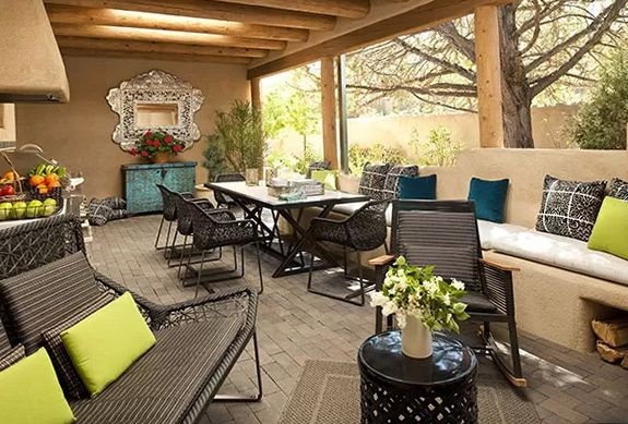 Adobe Residence In New Mexico | Home Interior Design, Kitchen And Bathroom  Designs, Architecture