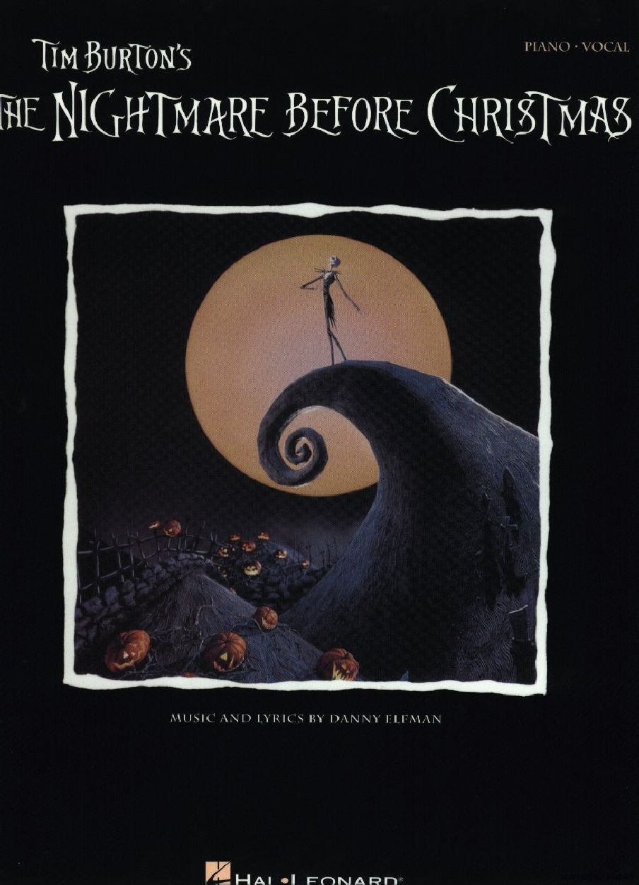 this is halloween danny elfman - the nightmare before christmas