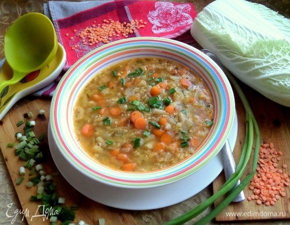Суп с чечевицей и фасолью | Рецепт у 2019 р.