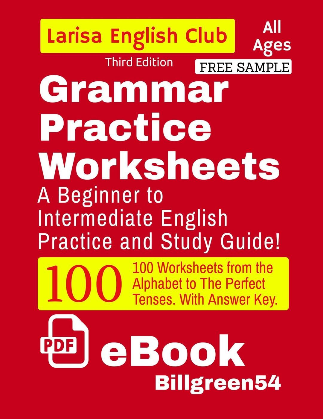 Grammar Practice Worksheets By Billgreen54