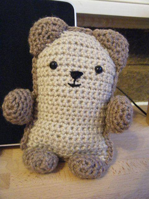 Ravelry: Amigurumi Bear pattern by Lion Brand Yarn | Ami | Pinterest ...