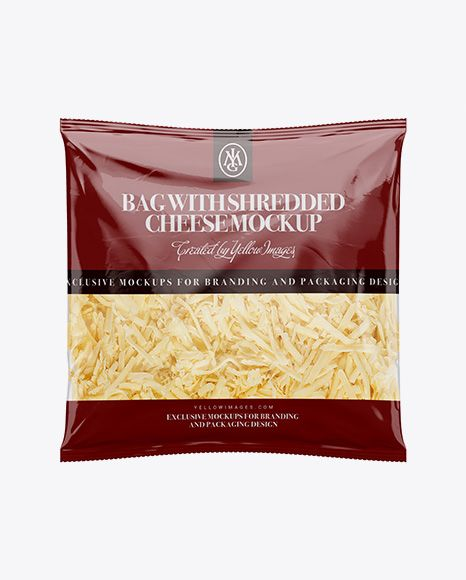 Download Plastic Bag W Shredded Cheese Mockup In Bag Sack Mockups On Yellow Images Object Mockups Free Psd Mockups Templates Mockup Psd Mockup Free Psd