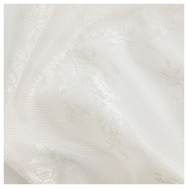 ALVINE SPETS Lace curtains, 1 pair, off-white - IKEA
