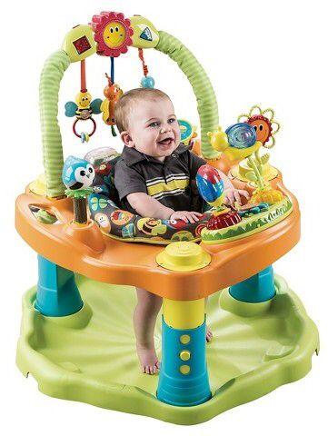 b8db02171 Evenflo® ExerSaucer Double Fun Activity Center - Bumbly