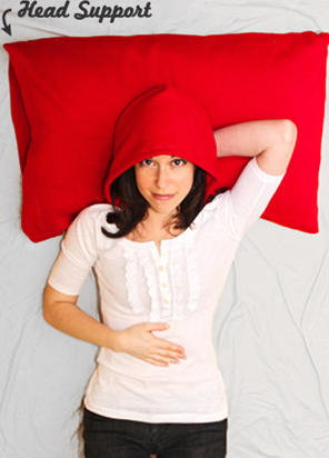 New 'HoodiePillow' Rivals the Snuggie for Laziest Fashion Fad