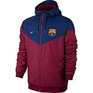 recuperación parilla explotar  Amazon.com: 2017-2018 Barcelona Nike Authentic Windrunner Jacket (Red):  Clothing | Vestuário masculino, Moda masculina vintage, Casaco masculino