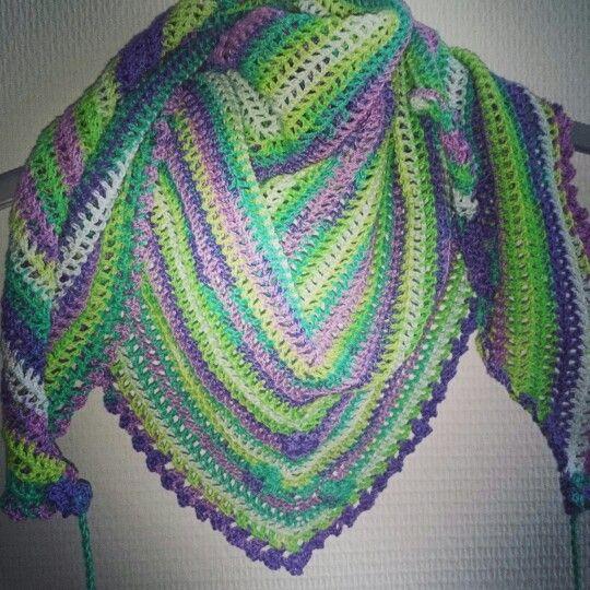 Roadtrip shawl met katia-jaipur gehaakt op haaknld 2,5   Crochet ...