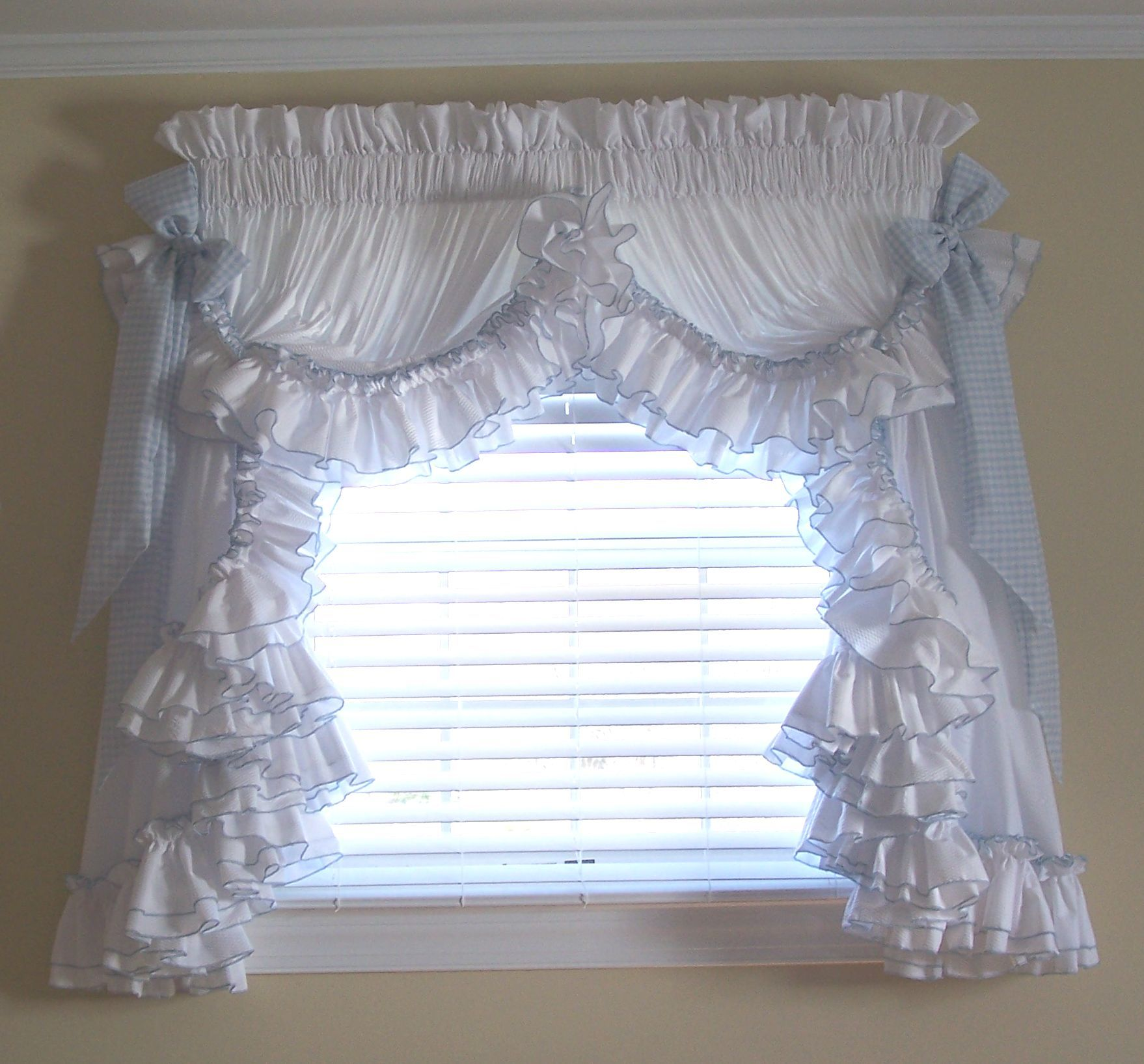 Nation Ruffled Curtains The Pure Inspirations Of Ruffled Curtain Units Function Embroidered Trim Round Layers Of Ruffle Curtains Priscilla Curtains Curtains