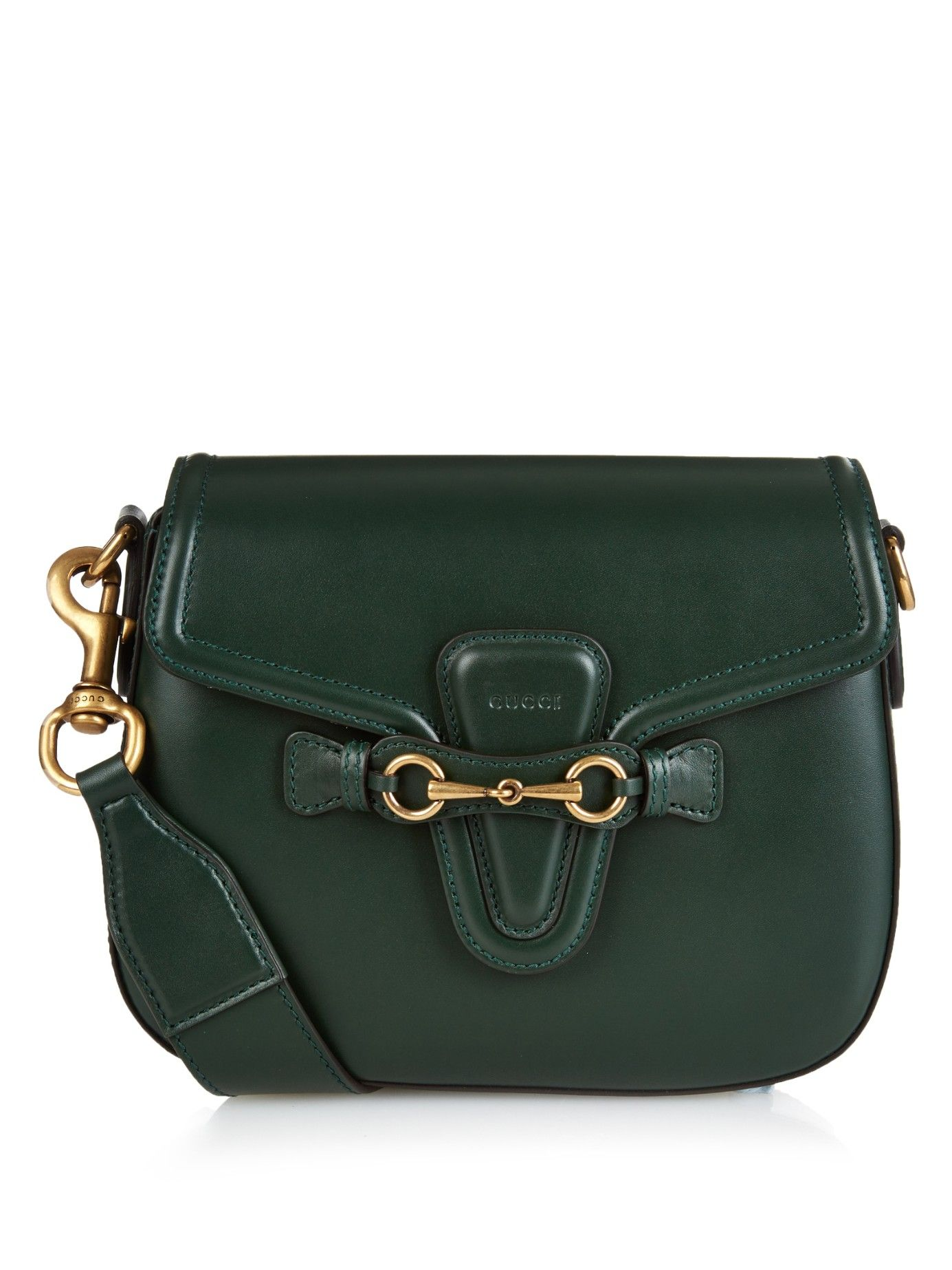 4603ab2e420f Lady Web medium leather cross-body bag | Gucci | MATCHESFASHION.COM ...