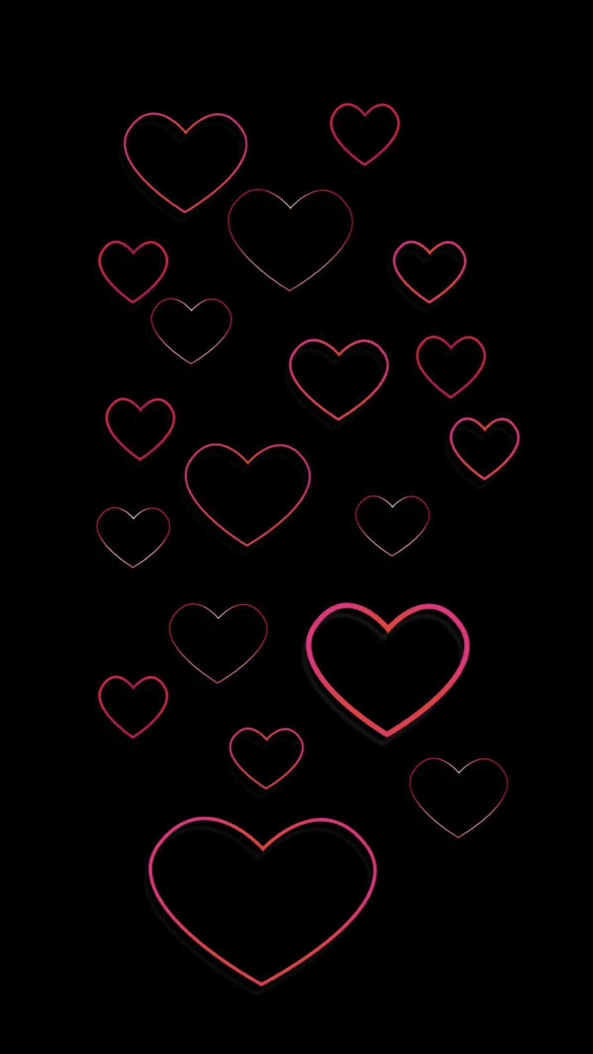 Pin By Nancy Waller On Iphone Wallpapers Heart Wallpaper Neon