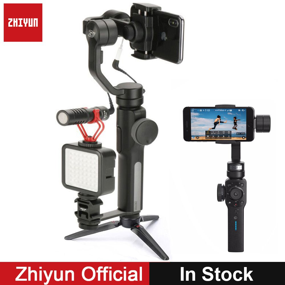 Zhiyun Smooth 4 Smooth Q 3-Axis Gimbal Stabilizer w Boya BY