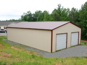 30 X 41 X 12 All Vertical Garage Metal Buildings Metal Building Homes Metal Building Home