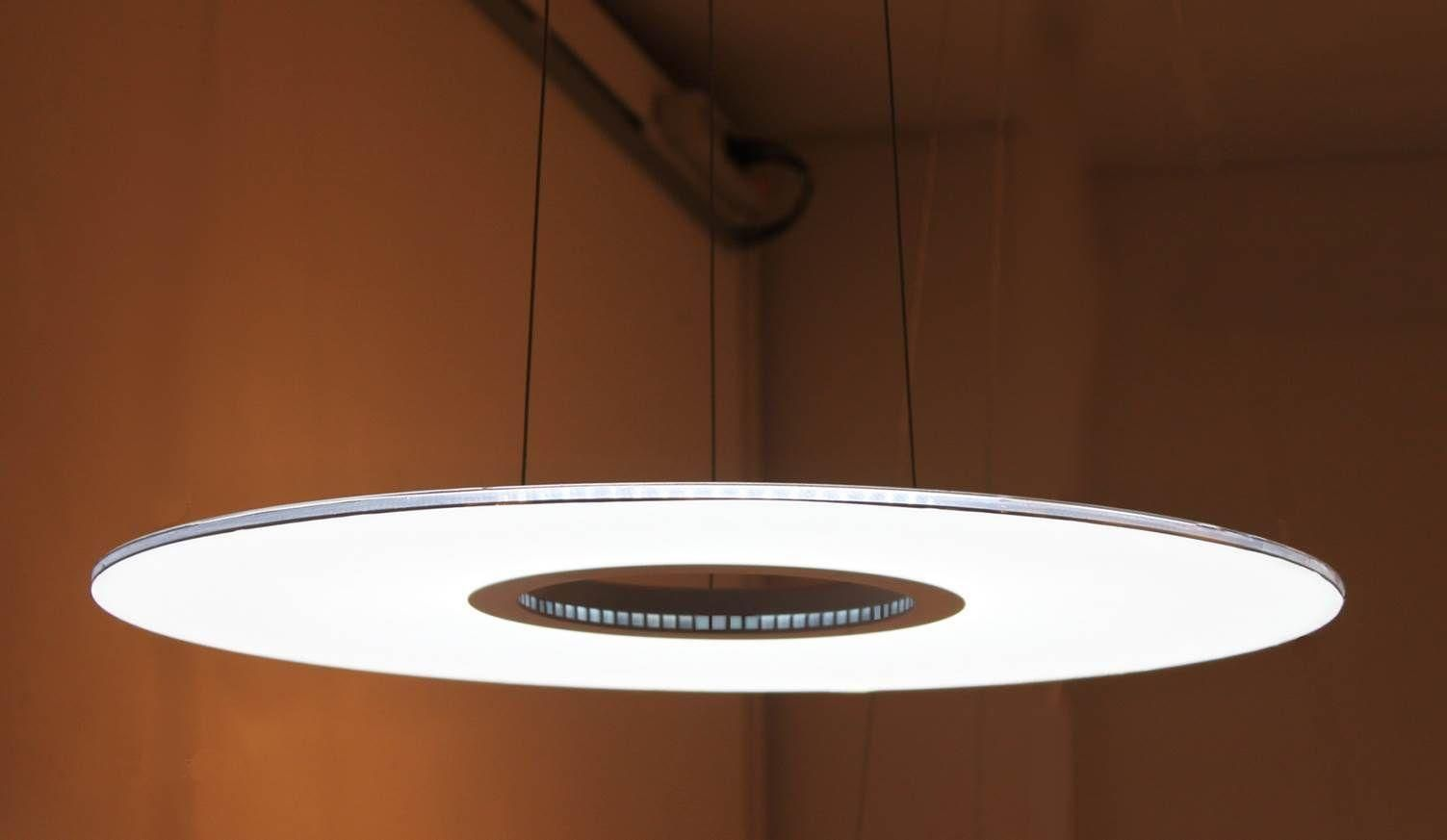 designer edge lighting. 185 Dollar Donut 20W LED Edge Lit Pendant Lamp Ceiling Light Fixture Designer Lighting C