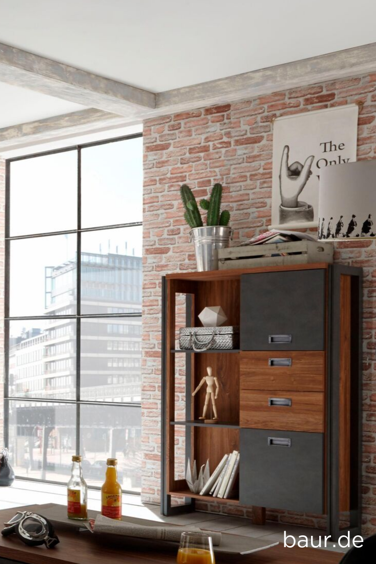 Home Affaire Highboard Detroit Kaufen Wohnaccessoires