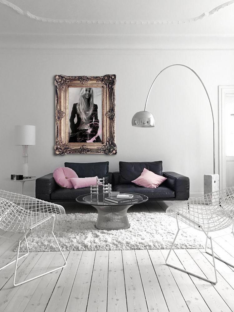 Di grande impatto white interior design living room campo visual also automatism danish glam indoor in decor rh pinterest