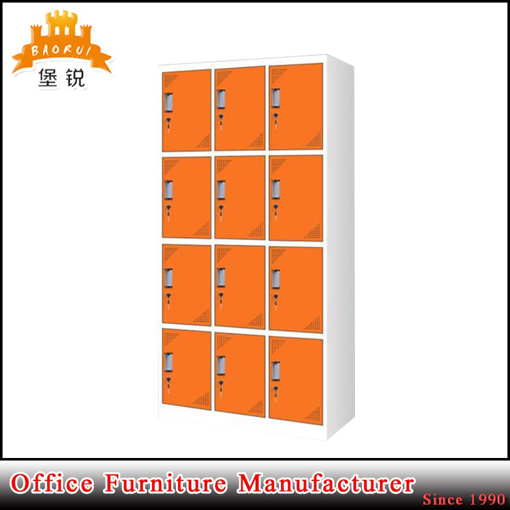 Hot Item Easy Assemble Knock Down 12 Door Steel Locker In 2020 Steel Locker Lockers Steel