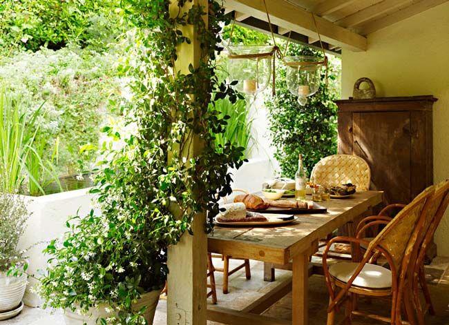 para intensificar la sensaci n org nica de tu terraza