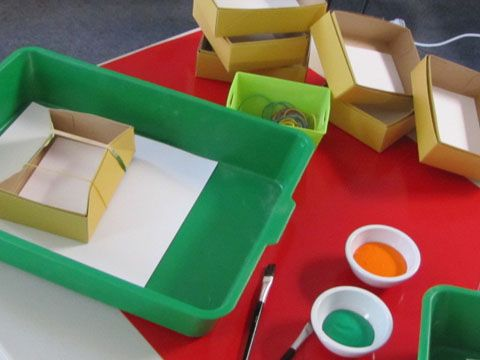 Irresistible Ideas for play based learning » Blog Archive » mini snap painting