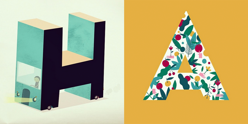 WE BLOG YOU: 36 days of type!