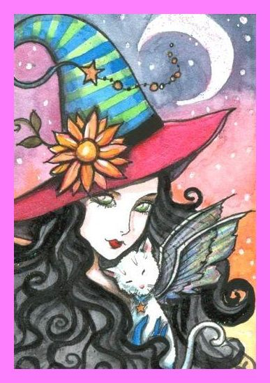 Bruja guapa Witch Pinterest Witches Fairy and Angel