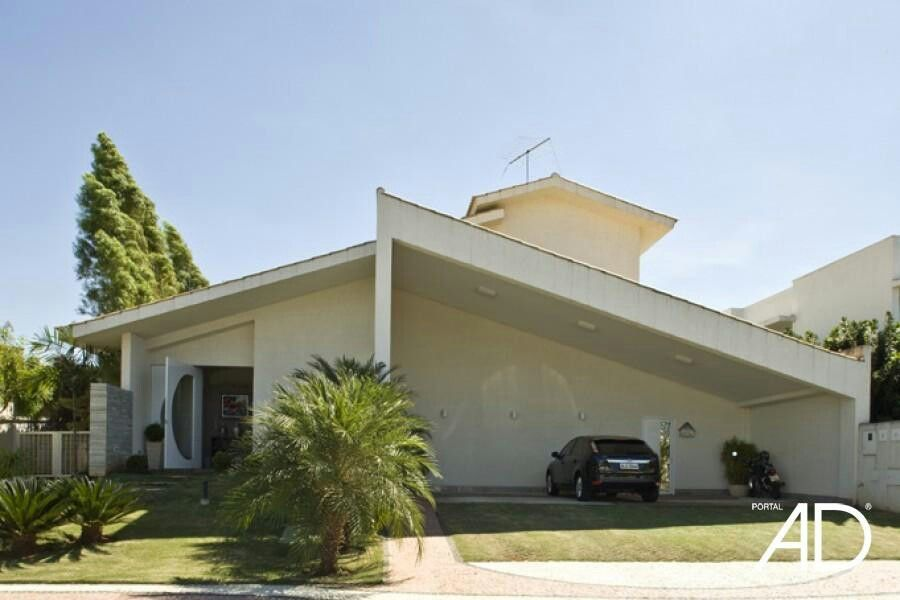 Techo a dos aguas con estacionamiento igone pinterest - Tejados de casas modernas ...