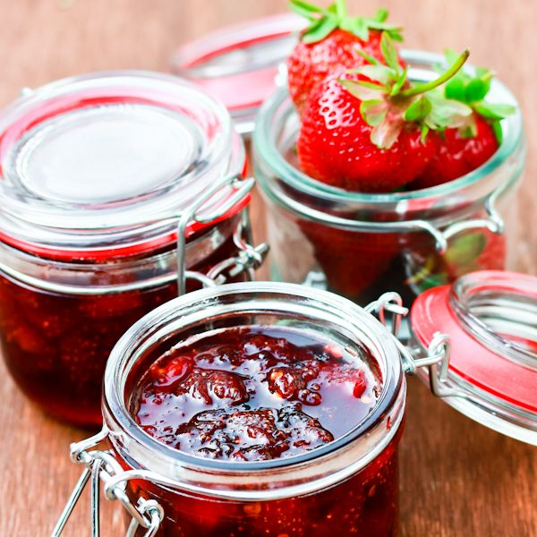 Strawberry Chipotle Jam - this is interesting! Should try it!!
