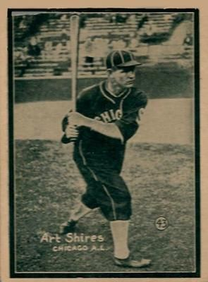 The Trading Card Database 1931 W517 43 Art Shires Baseball Cards Art Trading Cards