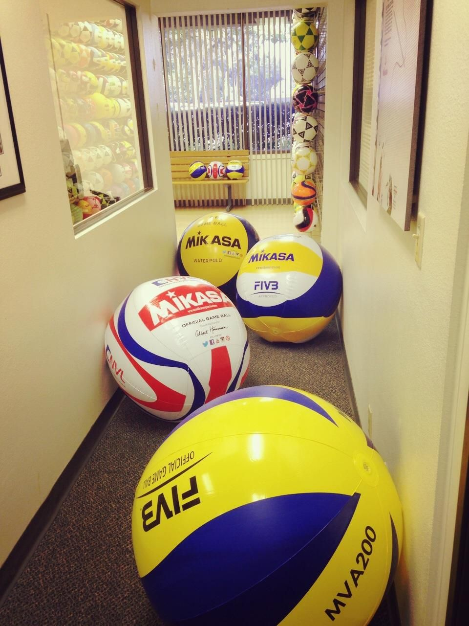 Big Inflatables Mikasa Soccer Ball Water Polo