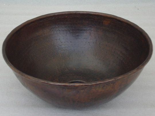 Copper Vessel Sinks Unique Bathroom Sinks-Classic Copper Vessel