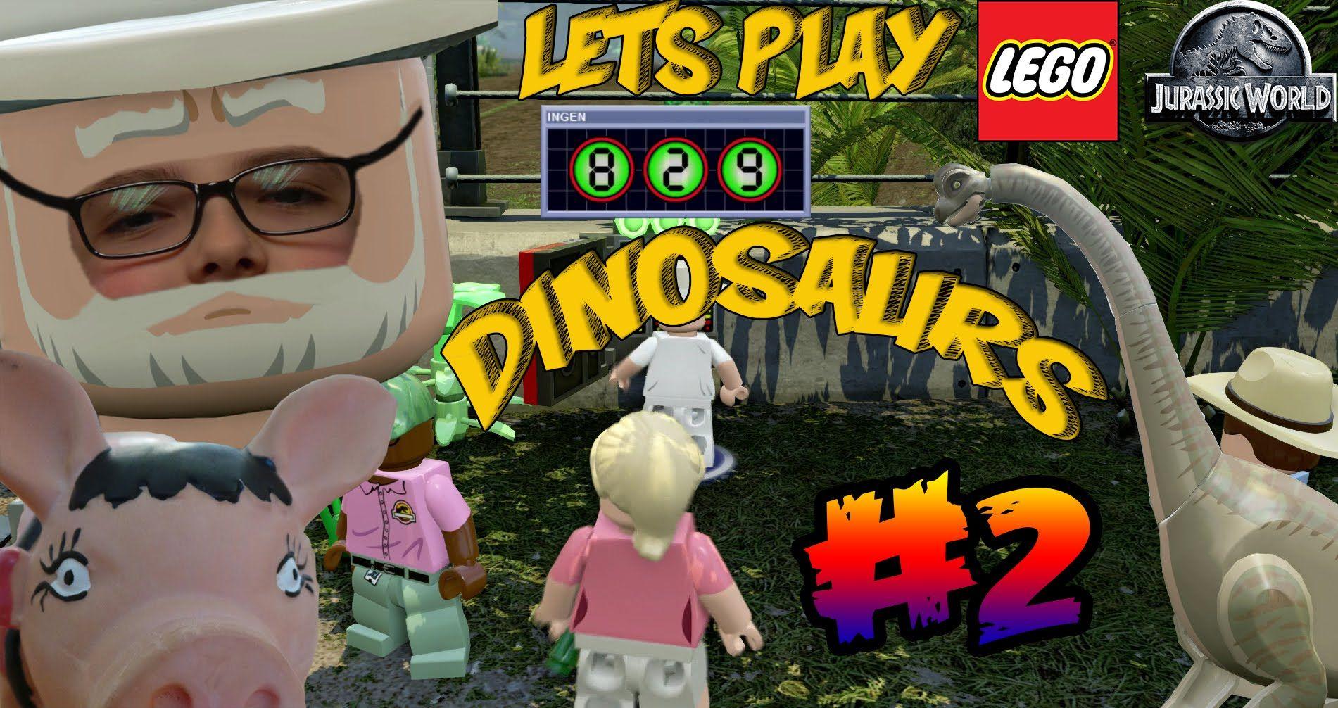 Lego Jurassic World #2 - DINOSAURS | Míša