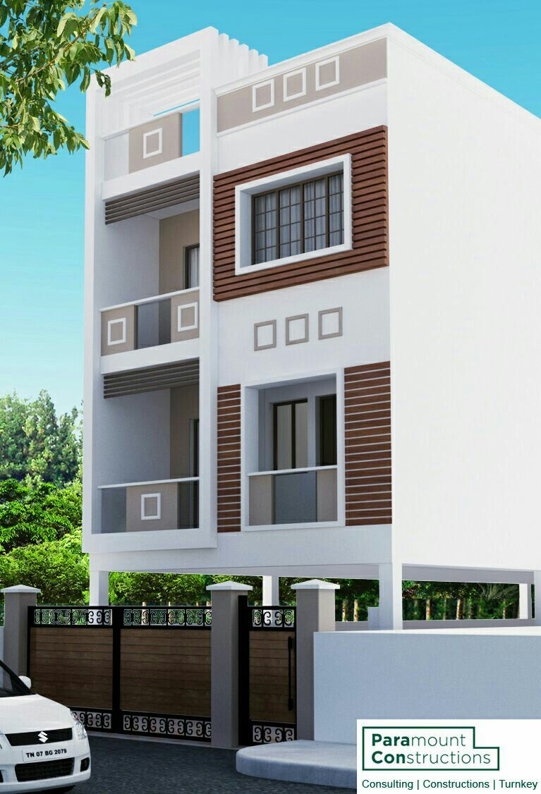 16 Awesome House Elevation Designs: Pin By Madhusudan.rksh On Building Elevations