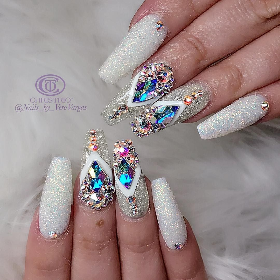 Amazingwonder how long theyd last on my hands acrylic coffin nails prinsesfo Image collections
