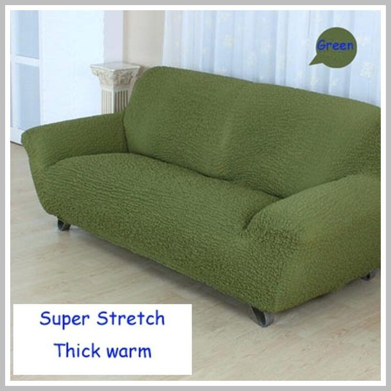Pin On Sofa Cover Dark Green