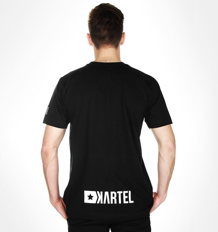 T-Shirt Black FLAG --> Shop at: www.hustla.pl/kartel  www.kartelbrand.com