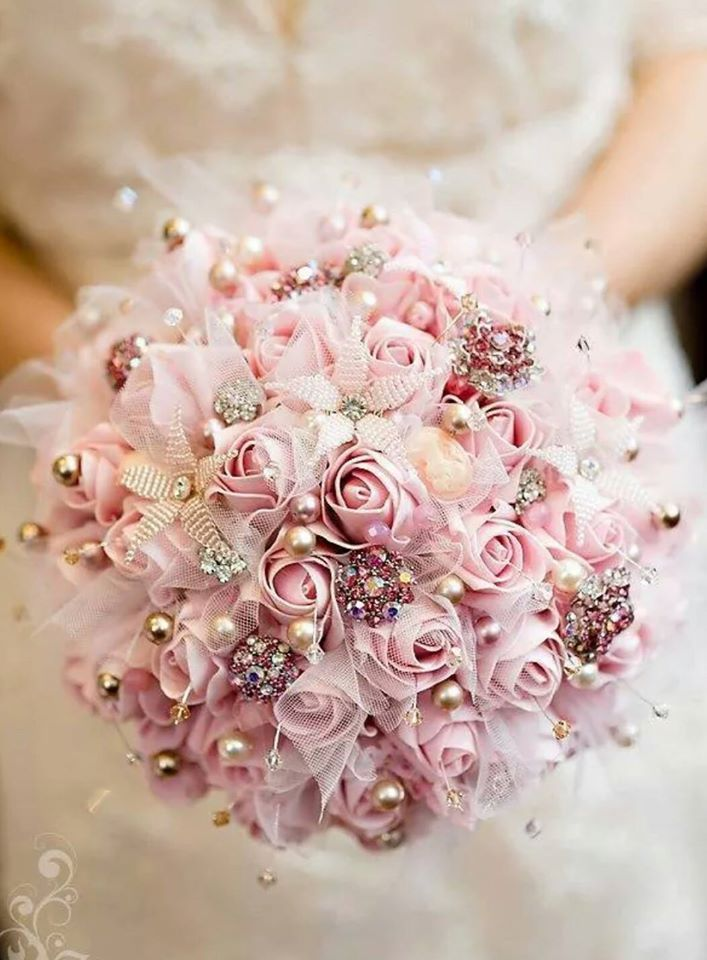 Ramo de novia tipo joya, diseño de Mar Cano | bridal | Pinterest ...