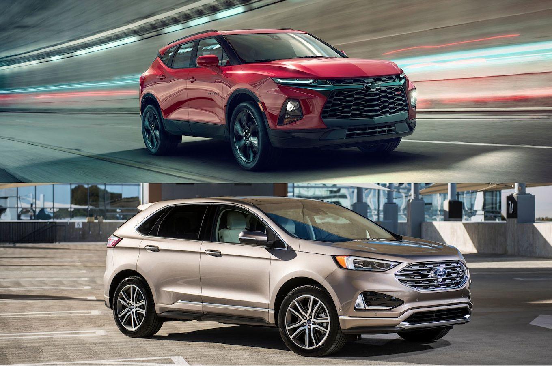 Refreshing Or Revolting 2019 Chevrolet Blazer Vs Ford Edge