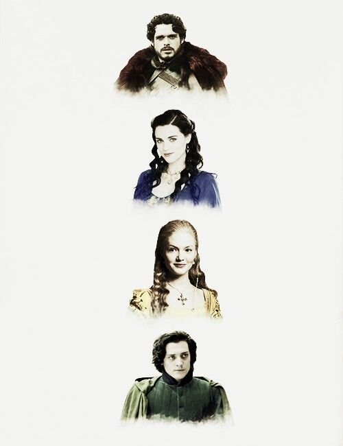 Hogwarts Founders I can so see Rob Stark as Godric Gryffindor