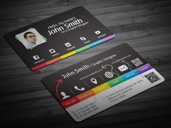Neat business card idea busy but i like it marketing via print neat business card idea busy but i like it colourmoves