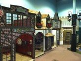 Mini Biltmore Village at Mountain Play Lodge in Asheville!