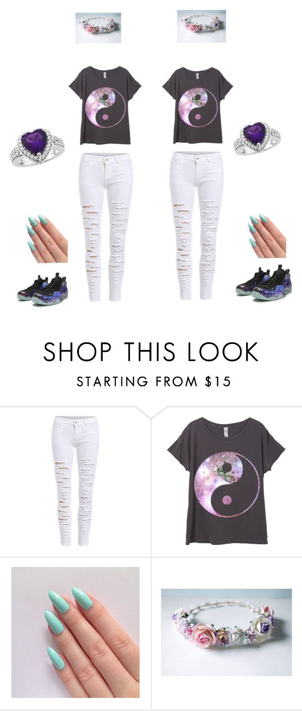 """""""Best Friends"""" by kenloveart on Polyvore featuring beauty and NIKE"""