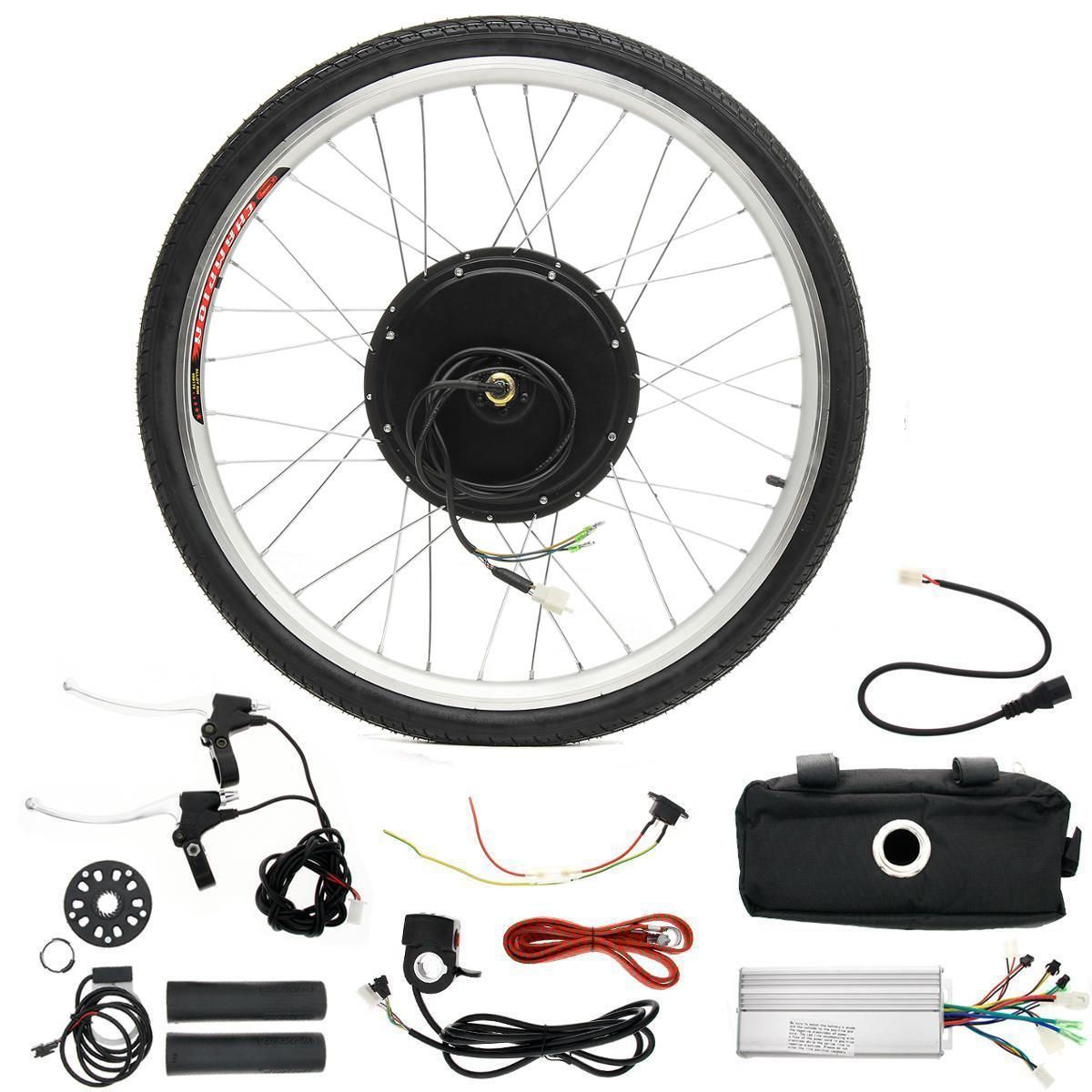 Lcd 48v 1000w 26inch Hight Speed Scooter Electric Bicycle E Bike Hub Motor Conversion Kit Other Vehicle Parts Accessories From Automobiles Motorcycles On Electric Bicycle Ebike Electric Scooter