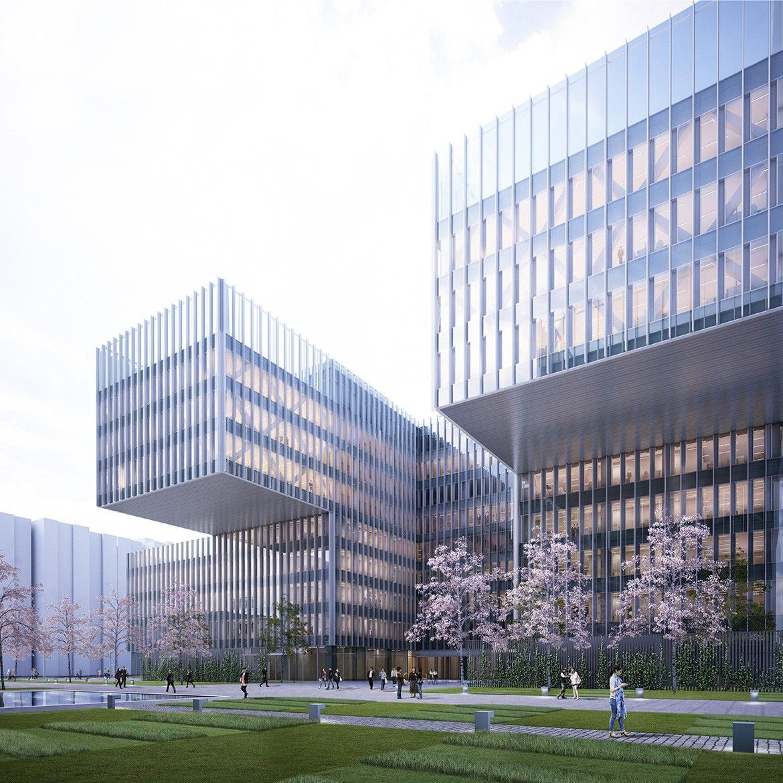 SHL Ningbo Daily Newspaper Group HQ Futurismo