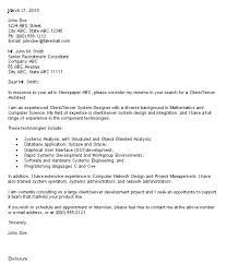 No Experience Undergraduate Architect Cover Letters Resume