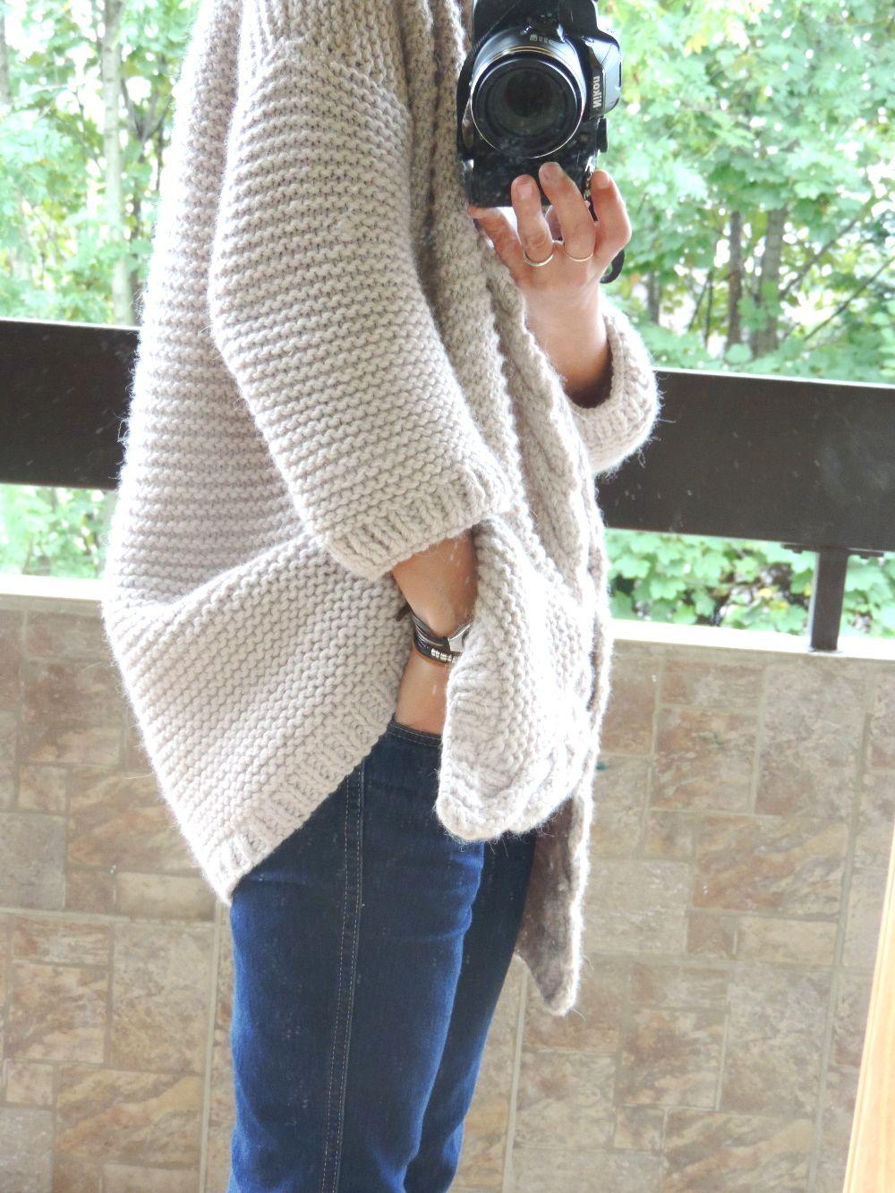 faire un gilet en tricot